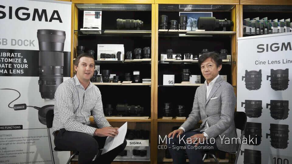 Sigma CEO praat over Art Lensen, Sony en meer…