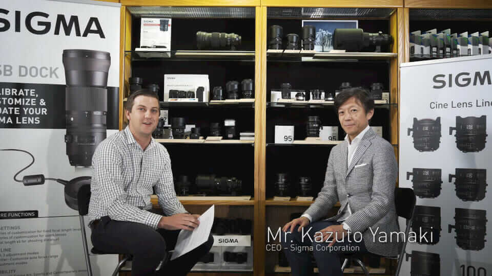 Sigma CEO Talks about Art Lenses, Sony and more…