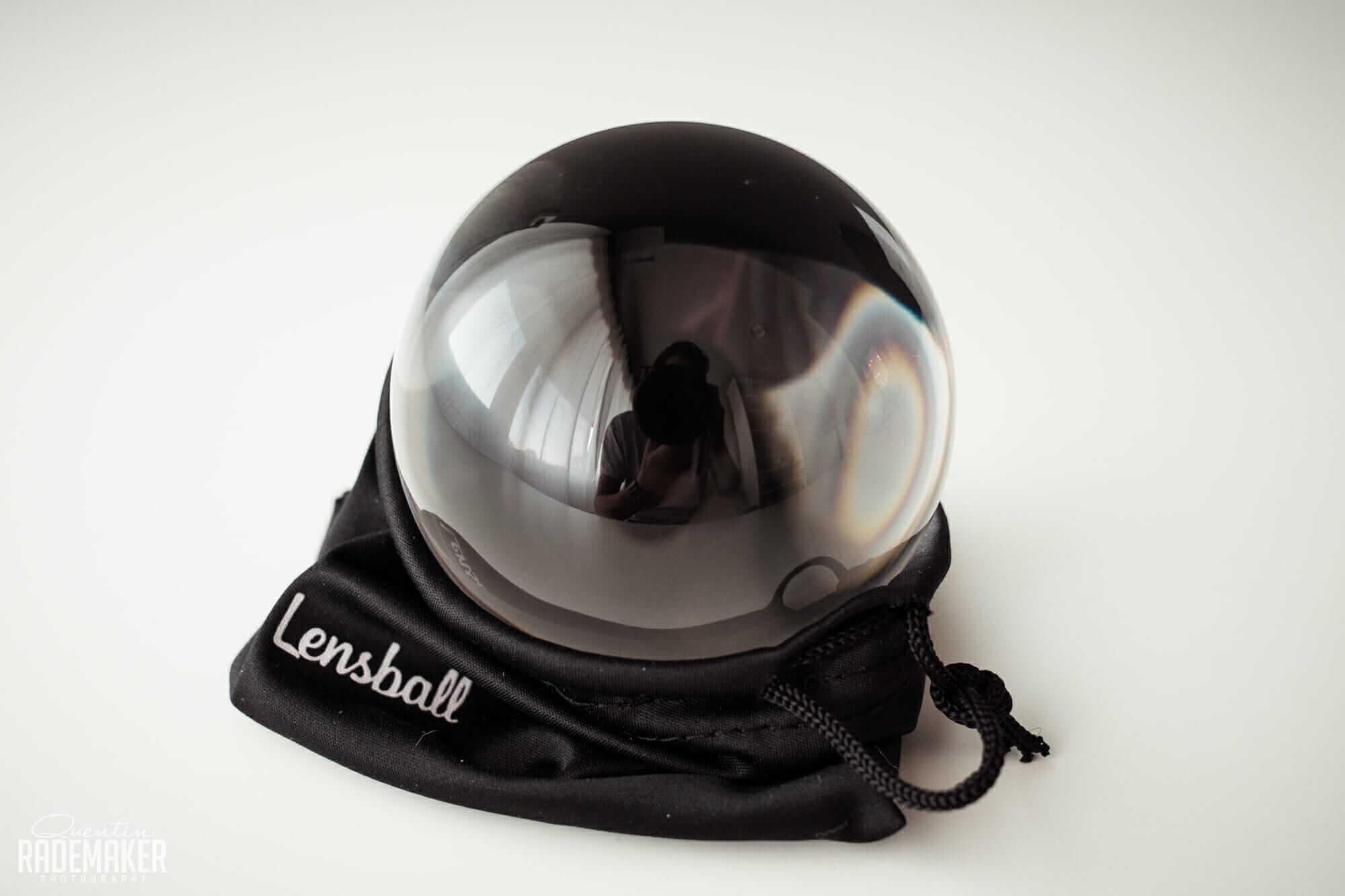 Word creatief met een Lensball