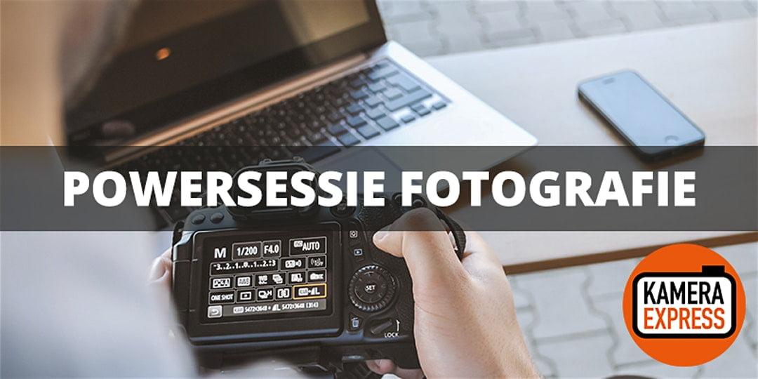 Powersessie Fotografie Amsterdam 8 feb bij Kamera Express