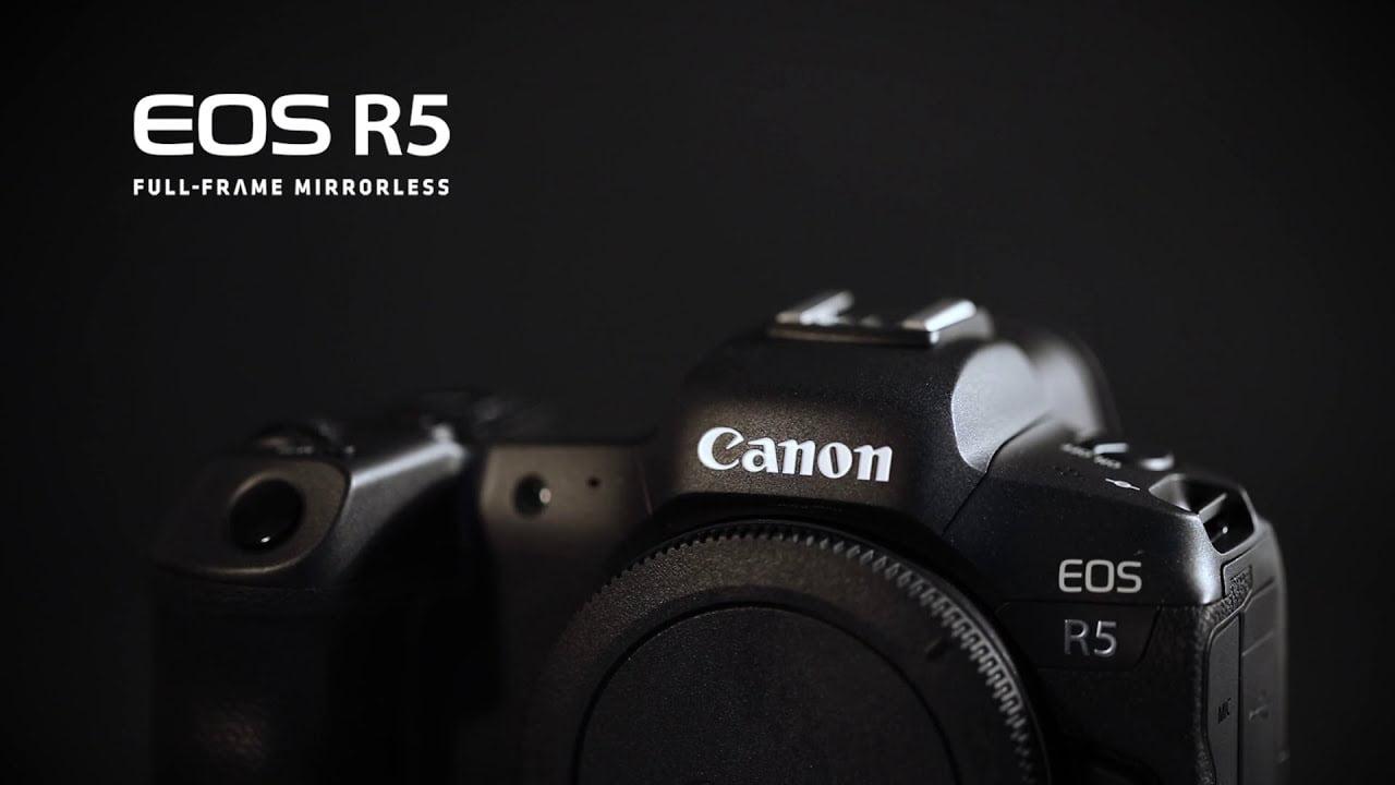 Canon EOS R5 komt er aan met baanbrekende features