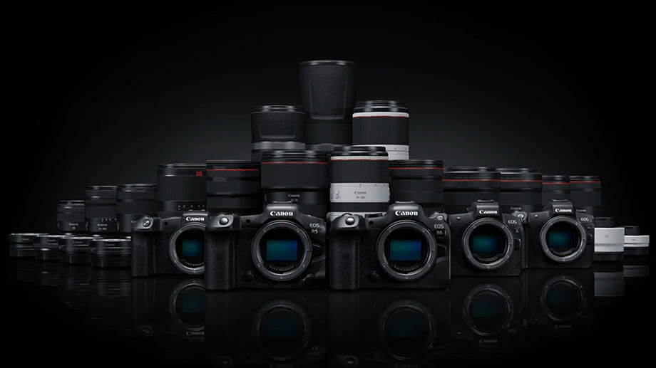 New firmware updates for the Canon EOS R lineup cameras including the Canon 1DX mark III