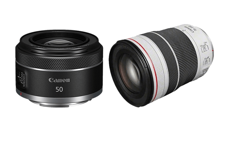 Preorder the Canon RF 50mm f/1.8 STM and Canon RF 70-200mm f/4L IS USM